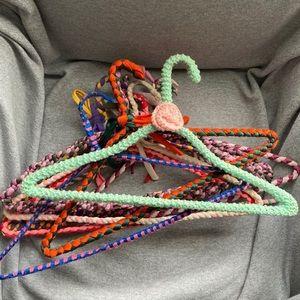 3/15$ Handmade vtg hangers